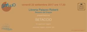 """Presentazione """"SETACCIO"""" di LeggereperLeggere @ Libreria di Palazzo Roberti, Bassano del Grappa   Bassano del Grappa   Veneto   Italia"""