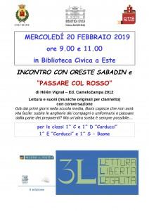 Passare col rosso - 3L @ Este (PD), Biblioteca Civica