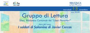 "I soldati di Salamina . GdL Silea @ Silea (TV), Biblioteca Comunale dei ""Liberi Pensatori"""