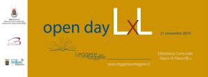Open Day di Leggere per Leggere @ Alano di Piave (BL), Biblioteca Comunale