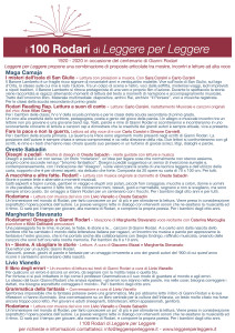 i 100 RODARI di Leggere x Leggere 32