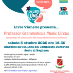 Prof. Grammaticus Magic Circus @ Sesto al Reghena (Pn), Biblioteca Comunale
