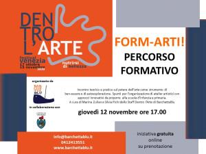 FORM-ARTI! Percorso formativo @ evento online