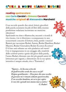 C'era 2 volte Gianni Rodari - reading spettacolo @ Romano d'Ezzelino (VI)
