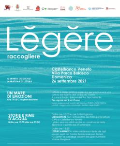 Maratona di Lettura: Lĕgĕre. Storie e rime d'acqua @ Castelfranco Veneto (TV)